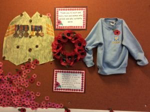 Poppy Day Display